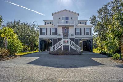 Edisto Beach Single Family Home Contingent: 28 Battery Park Road