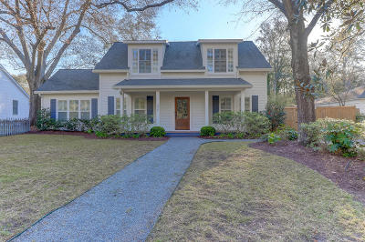 Charleston Single Family Home Contingent: 306 Riverland Drive