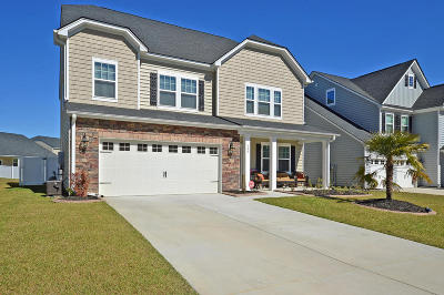 Moncks Corner Single Family Home Contingent: 155 Blackwater Way