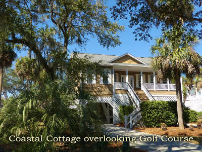 Edisto Island Single Family Home For Sale: 8 Gun Bluff Road