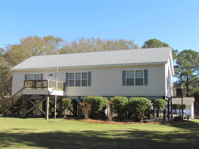 Edisto Island Single Family Home For Sale: 520 Fishing Creek Drive