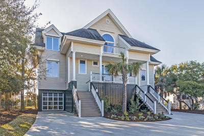 Isle Of Palms Single Family Home Contingent: 206 Charleston Boulevard