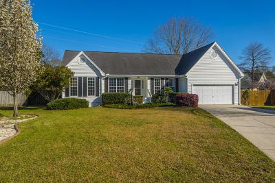 Mount Pleasant Single Family Home Contingent: 734 Cotillion Place