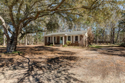 Johns Island Single Family Home For Sale: 1879 Bohicket Road
