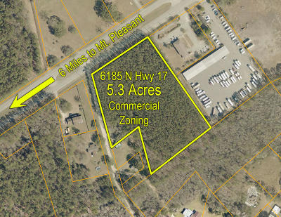 Awendaw Residential Lots & Land For Sale: 6185 N Highway 17