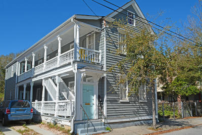 Charleston Single Family Home For Sale: 63 Drake Street #A &