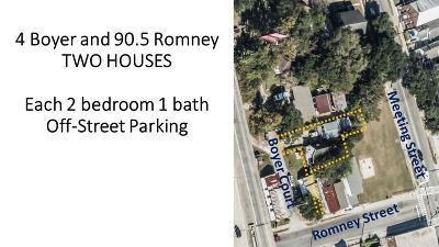 Multi Family Home For Sale: 90 Romney Street #+4 Boyer