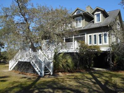 Edisto Island SC Single Family Home For Sale: $589,000