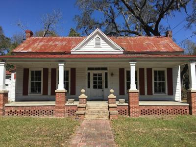 Walterboro Single Family Home For Sale: 719 Carn Street