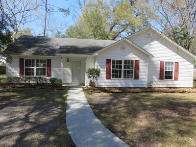Walterboro Single Family Home For Sale: 136 Ireland Hills Drive