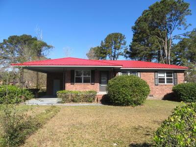 Walterboro Single Family Home Contingent: 121 Franklin Street