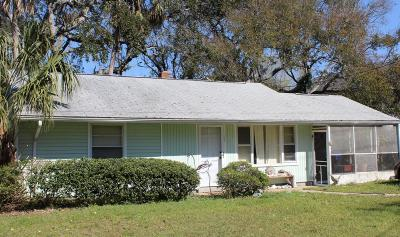 Isle Of Palms Single Family Home Contingent: 2503 Cameron Boulevard