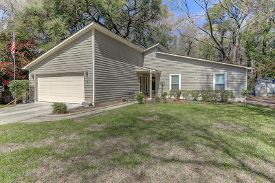 Mount Pleasant Single Family Home For Sale: 1139 Plantation Lane