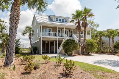 Edisto Beach Single Family Home For Sale: 63 Rice Lane
