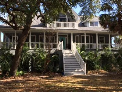 Isle Of Palms Single Family Home For Sale: 2 Intracoastal Court