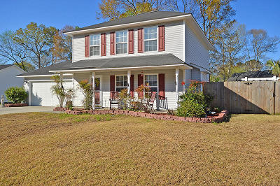Ladson Single Family Home For Sale: 118 Houston Dr