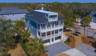 Isle Of Palms Single Family Home For Sale: 4009 Cameron Boulevard