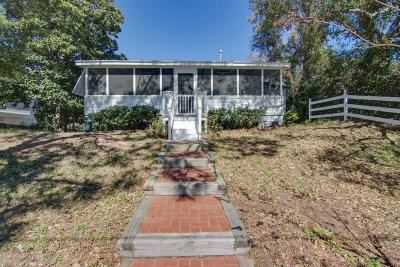 Folly Beach Single Family Home Contingent: 806 E Ashley Avenue