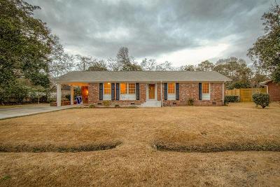 Charleston Single Family Home For Sale: 1276 S Lenevar Drive