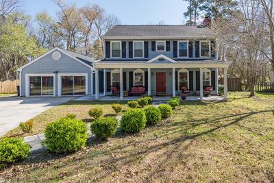 Single Family Home For Sale: 4721 Blakeford Court