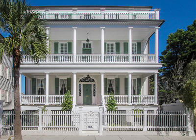 Charleston Single Family Home For Sale: 44 South Battery