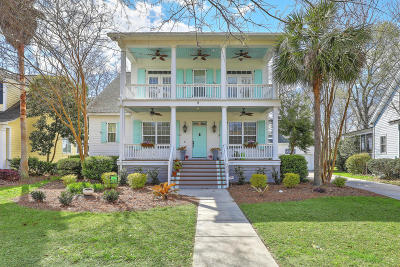 Awendaw, Wando, Cainhoy, Daniel Island, Isle Of Palms, Sullivans Island Single Family Home For Sale: 1062 Blakeway Street