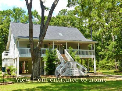 Edisto Island SC Single Family Home For Sale: $409,000