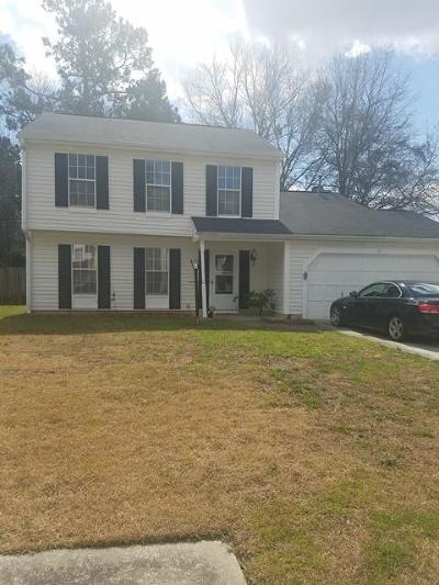 Summerville Single Family Home For Sale: 117 Danzid Drive