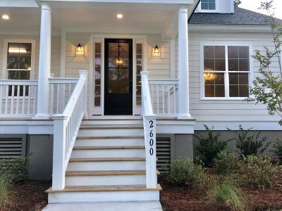 Mount Pleasant Single Family Home For Sale: 2600 Alderly Lane