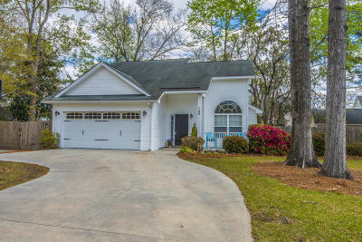 Charleston Single Family Home Contingent: 766 Ponderosa Drive