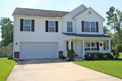 Goose Creek Single Family Home For Sale: 124 Pine Hall Drive
