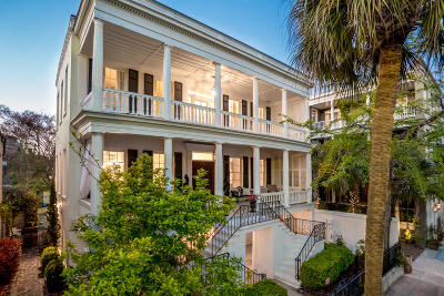 Charleston SC Single Family Home For Sale: $3,200,000