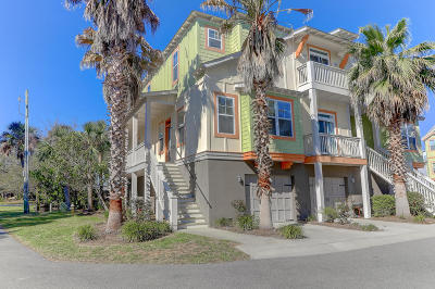 Folly Beach Attached For Sale: 204 Michigan Avenue #A-1