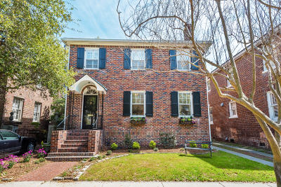 Charleston Single Family Home For Sale: 12 Ashley Avenue