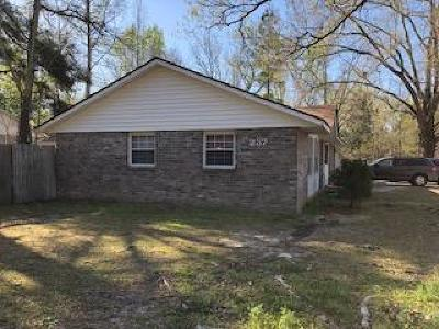 Summerville Single Family Home For Sale: 237 Tupperway Dr Drive