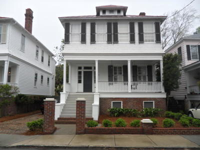 Charleston Single Family Home For Sale: 59 Gibbes