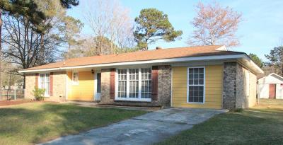 Summerville Single Family Home For Sale: 104 Confederate Court