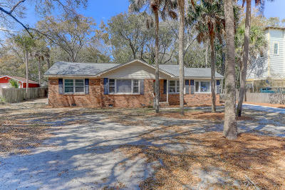 Isle Of Palms Single Family Home Contingent: 3501 Hartnett Boulevard