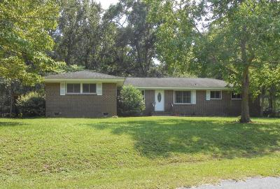 Mount Pleasant Single Family Home Contingent: 1325 Bluebird Drive