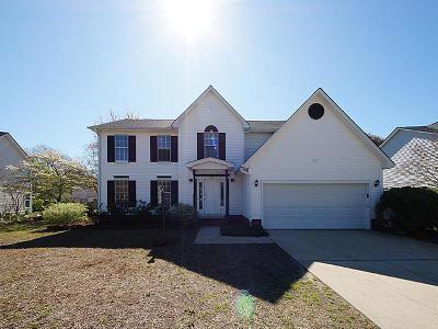 Mount Pleasant Single Family Home For Sale: 1545 Diamond Boulevard