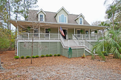 Seabrook Island Single Family Home For Sale: 3028 Marsh Haven