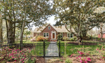 Charleston Single Family Home Contingent: 403 Wappoo Road