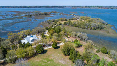 Wadmalaw Island Single Family Home For Sale: 1260 Martins Point Road