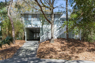 Isle Of Palms Single Family Home Contingent: 43 Twin Oaks Lane