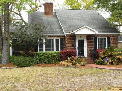 Charleston Single Family Home For Sale: 713 Parish Road