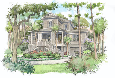 Seabrook Island Single Family Home For Sale: 2811 Old Drake Drive