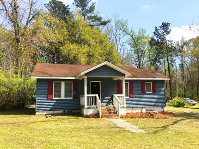 Walterboro Single Family Home For Sale: 2802 Hiers Corner Road