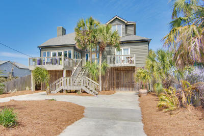Folly Beach Single Family Home For Sale: 1628 E Ashley Avenue