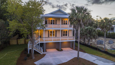 Isle Of Palms SC Single Family Home Contingent: $1,599,000