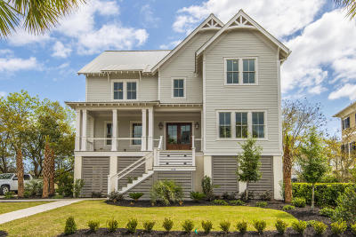 Charleston Single Family Home For Sale: 197 King George Street #Lot A